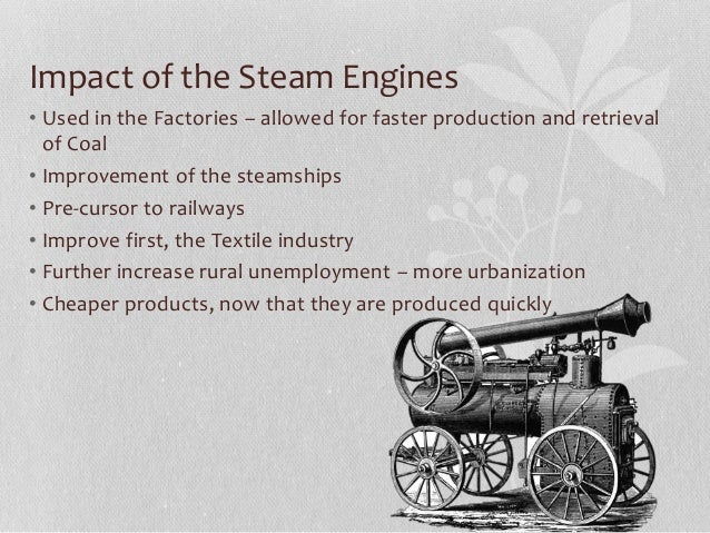 Essay steam engine | Term paper Example
