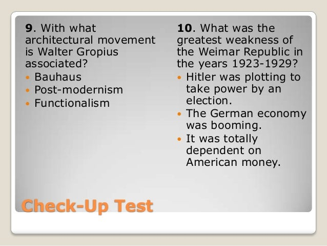 how did the weimar republic survive The weimar republic is the name given to the german government between the end of the imperial period (1918) and the beginning of nazi germany (1933) the weimar republic (and period) draws its name from the town of weimar in central germany where the constitutional assembly met.
