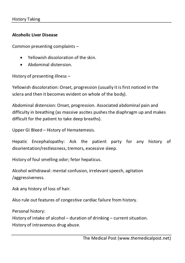 history taking in medicine and surgery pdf