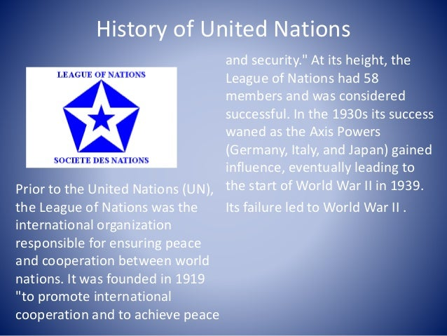 The United Nations is born