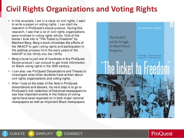 The Ticket to Freedom: The NAACP and the Struggle for Black Political Integration