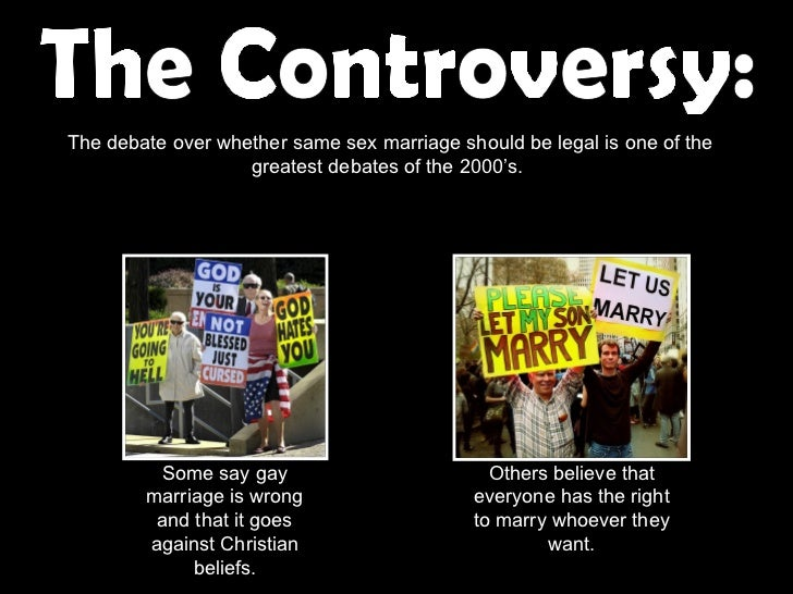 same sex marriage ppt same sex marriage the controversy 2