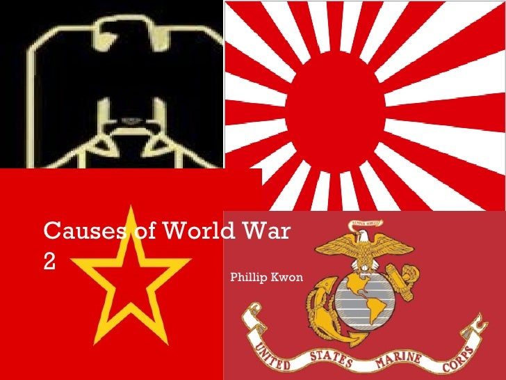 Causes of World War 2 Phillip Kwon