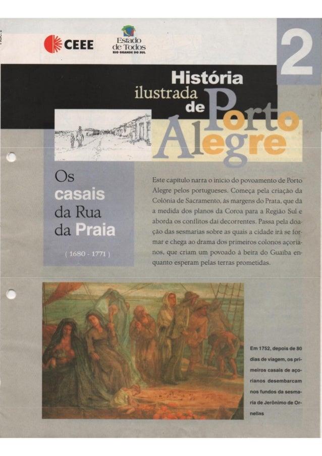História de Porto Alegre - Os Casais da Rua da Praia