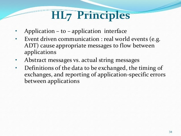 HIS Traning and HL7 Implementation