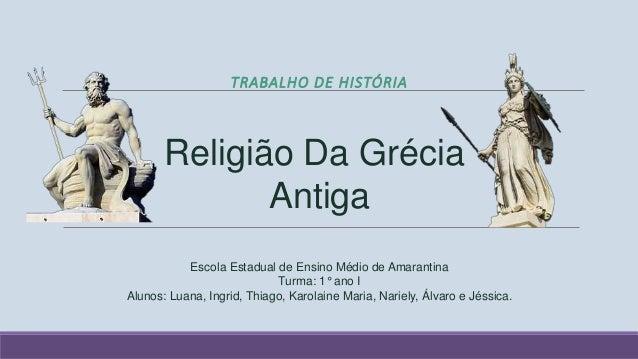 Religiosidade na Grécia Antiga