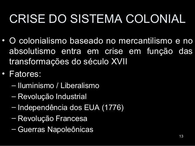 História do Brasil - Colônia - Revoltas coloniais [www