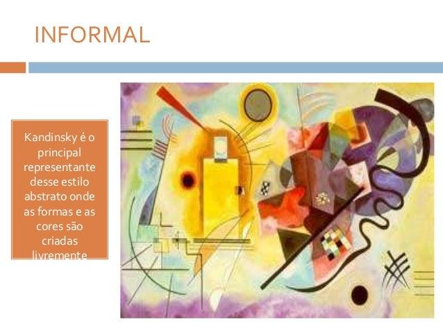 Uma caracteristica do abstracionismo