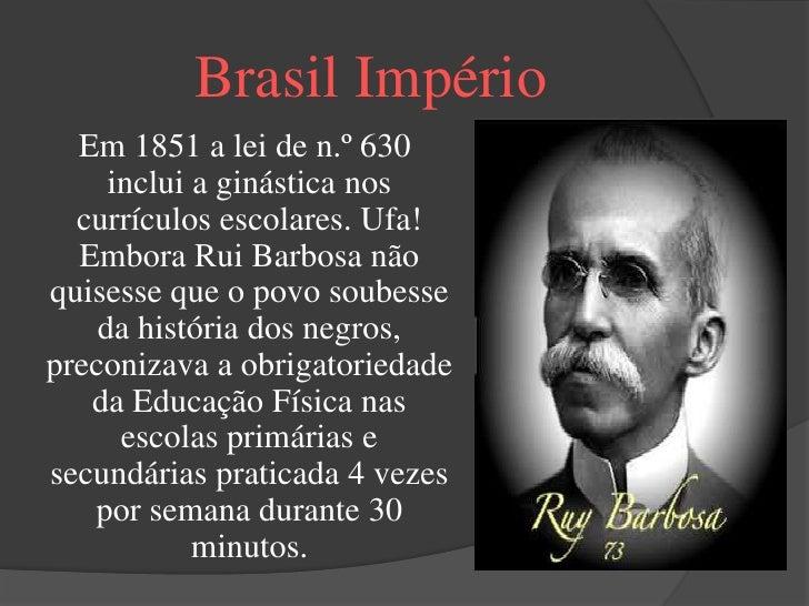 Nome       Brasil República                   Essa foi uma época onde                começou a profissionalização         ...