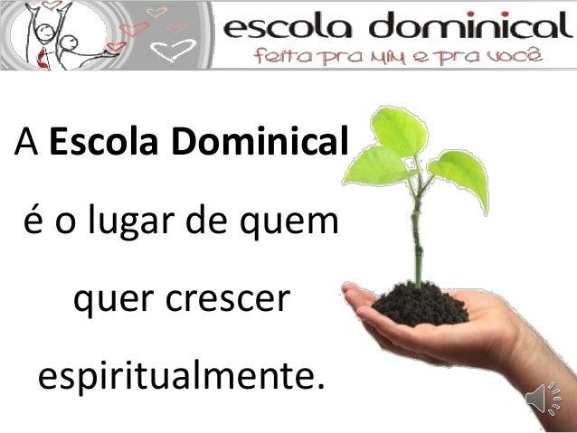 Histria Da Escola Dominical