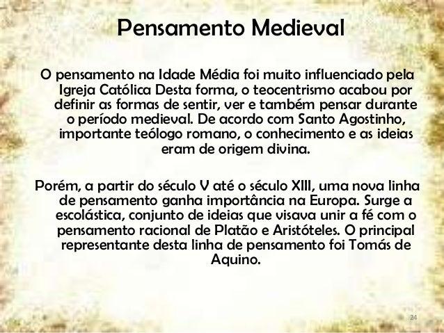 Pensamento Medieval ... 071a1f1ee05f8