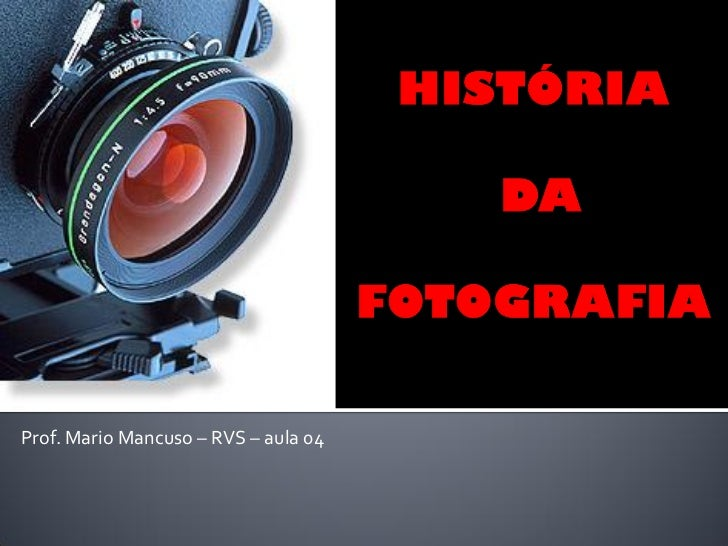 Prof. Mario Mancuso – RVS – aula 04