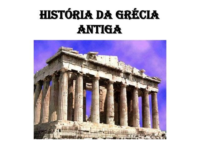 História da GréciaAntiga