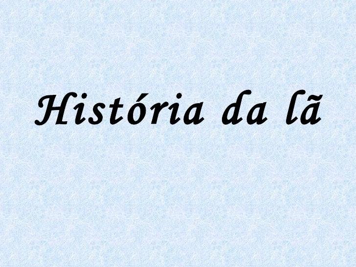 História da lã