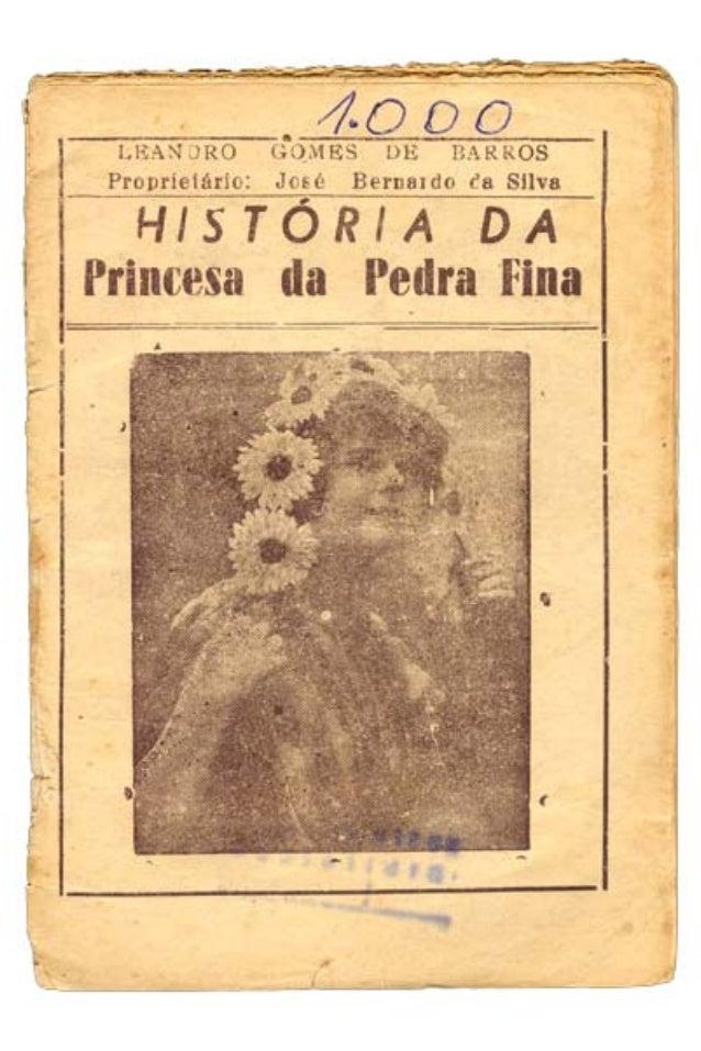 História da princesa da pedra fina