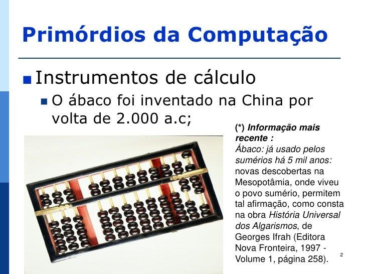 História da TIC Slide 2