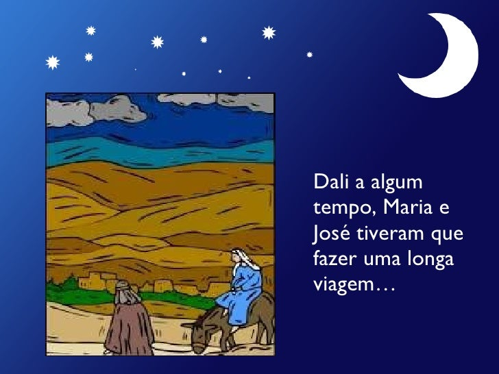 História do Nascimento de Jesus Slide 3