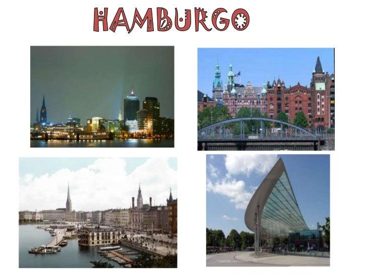•   Hamburgo está situada no ponto onde o rio Elba encontra os rios Alster e Bille. A    área central da cidade situa-se e...