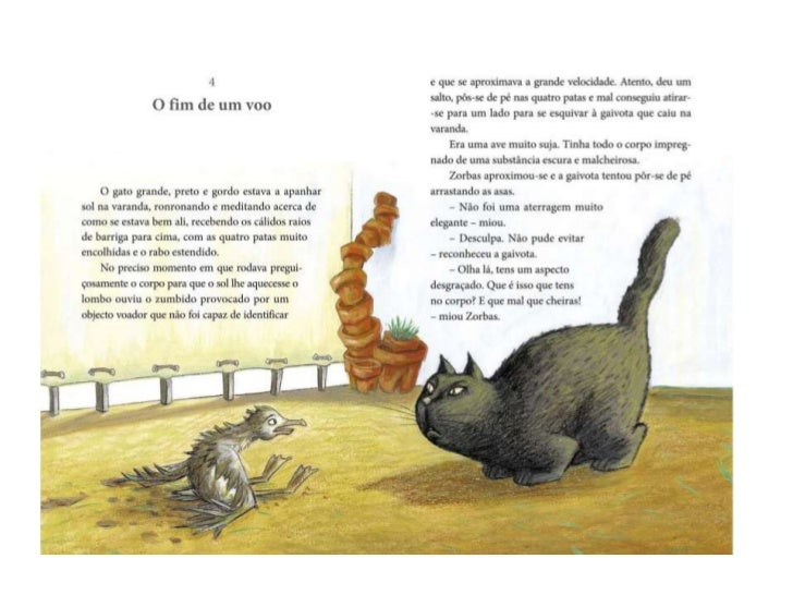 Caracterização de personagens    Sabetudo             Colonello             Secretário            Zorbas. Gato que vive   ...