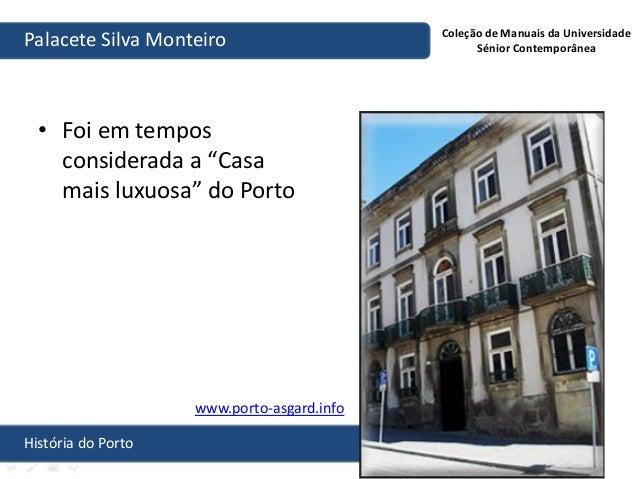Hist ria do porto palacete conde silva monteiro artur filipe dos - Casa palacete 1822 ...