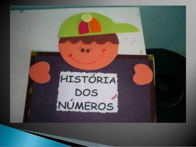 História dos números 1º ano