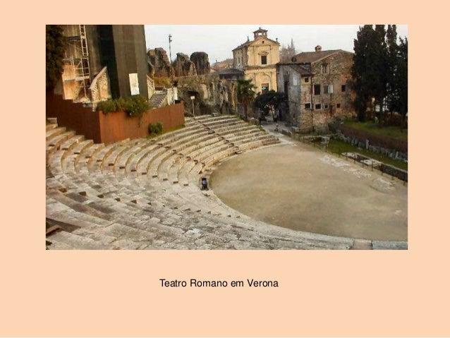 Teatro Romano em Verona