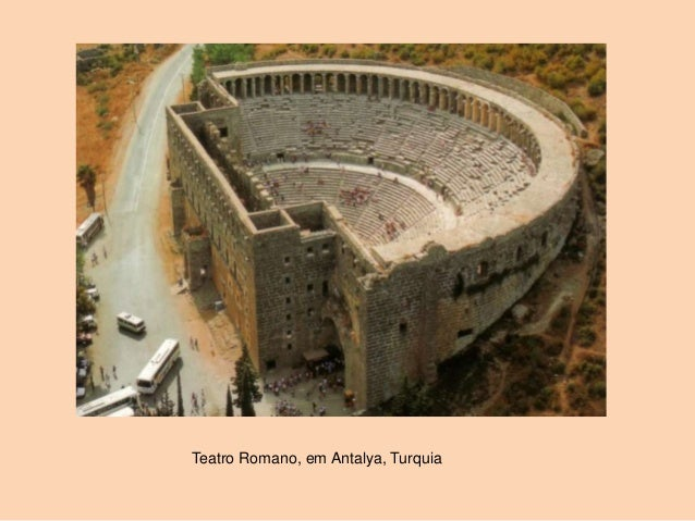 Teatro Romano, em Antalya, Turquia