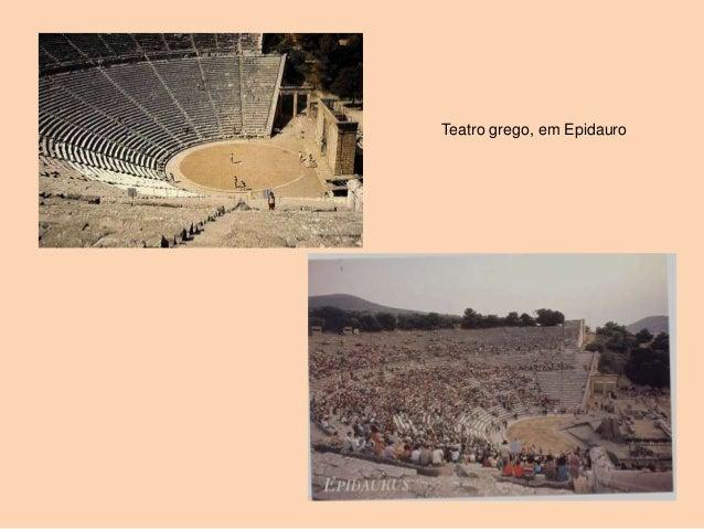 Teatro grego, em Epidauro