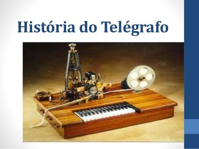 História do Telégrafo