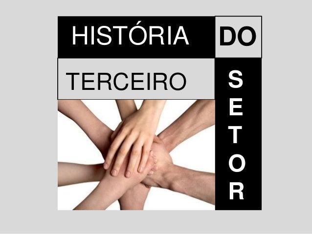 HISTÓRIA DO TERCEIRO S E T O R