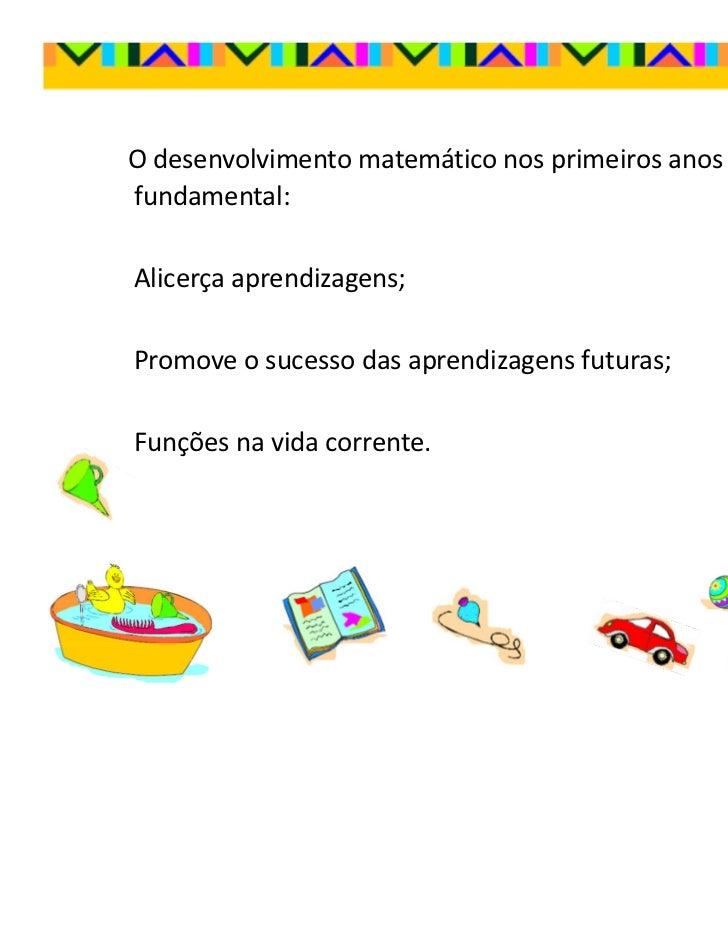 Matemática no Pré-escolar Slide 3