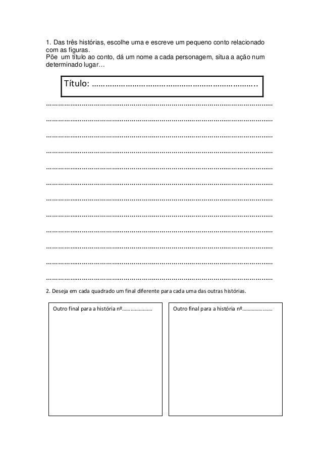Histórias desenv escrita criativa Slide 2