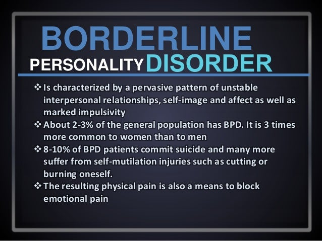 What Is Borderline Personality Disorder >> Histrionic And Borderline Personality Disorder