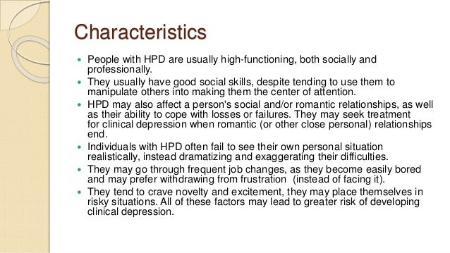 High strung personality traits