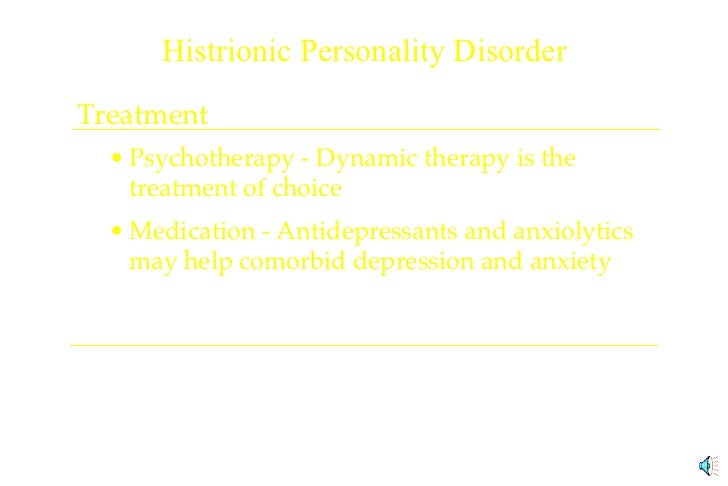 An analysis of the determination that are prevalence of histrionic personality disorder in the gener
