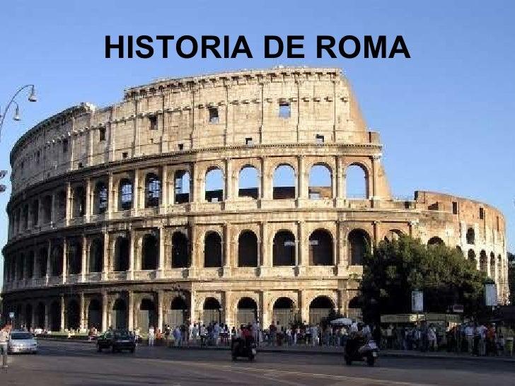 Risultati immagini per historia de roma