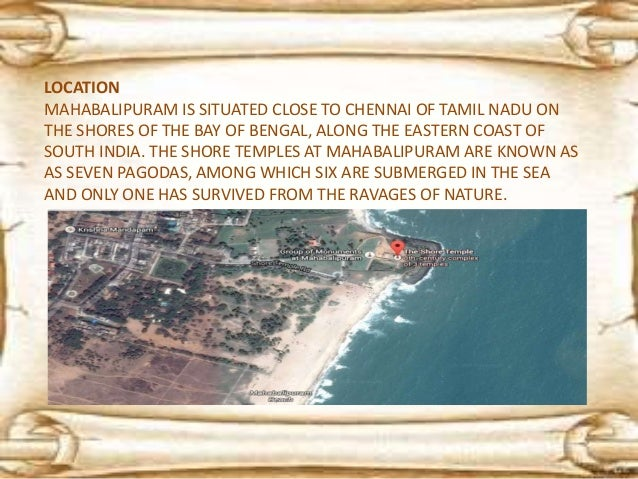 MAHABALIPURAM, ALSO KNOWN AS MAMALLAPURAM IS A TOWN IN KANCHEEPURAM DISTRICT IN THE INDIAN STATE OF TAMIL NADU IT IS AN AN...