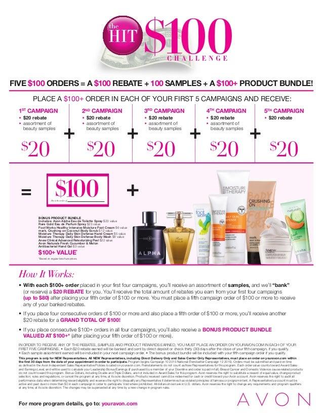 Pay to the order of BONUS PRODUCT BUNDLE Includes: Avon Alpha Eau de Toilette Spray $23 value Rare Gold Eau de Parfum Spra...