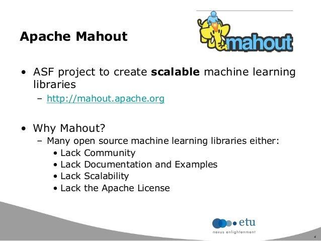 Apache Mahout 於電子商務的應用