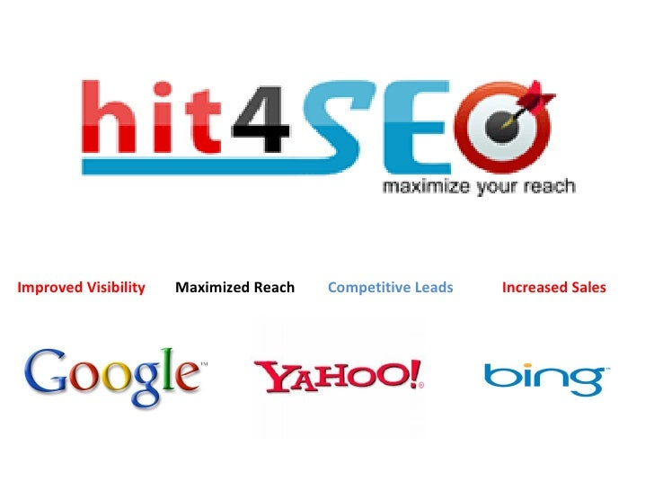 Increased Sales  Improved Visibility Competitive Leads Maximized Reach