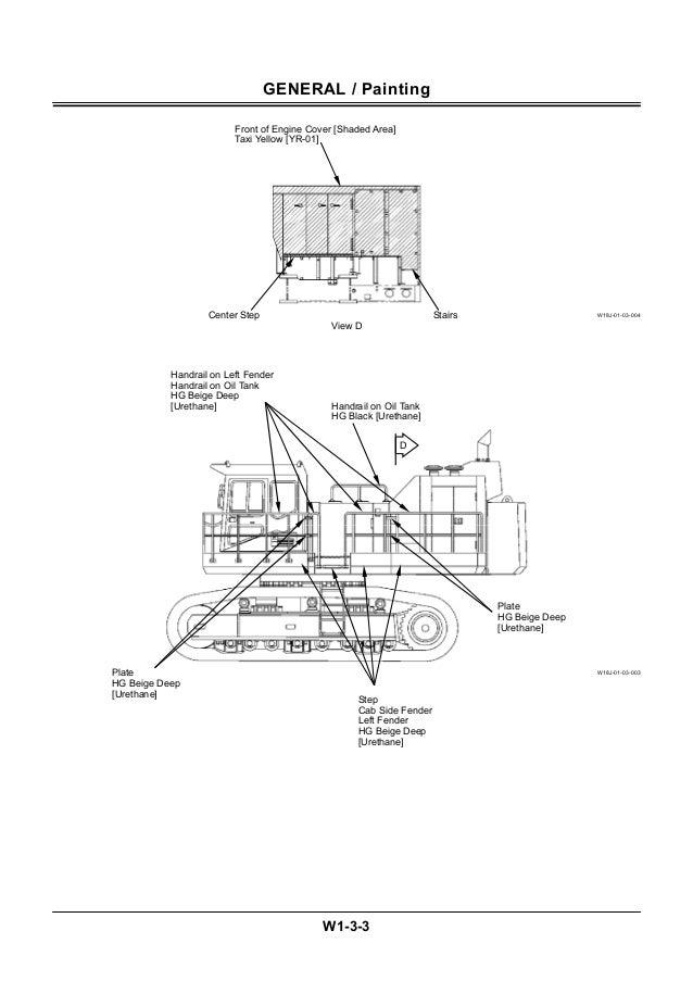 Hitachi ex1200 6 hydraulic excavator service repair manual
