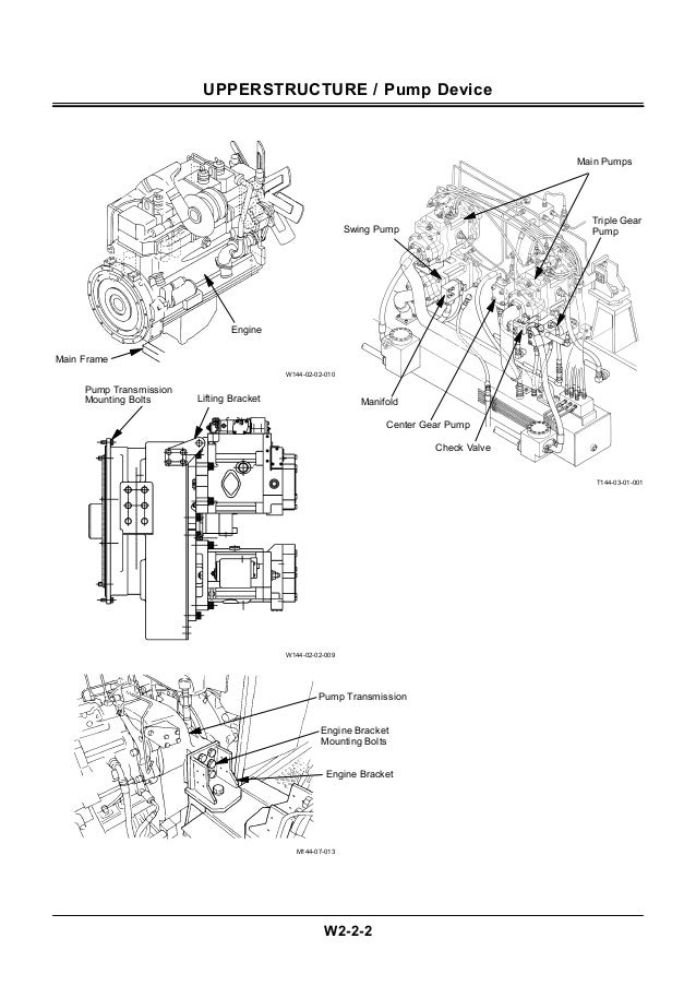 Hitachi ex1800 3 excavator service repair manual