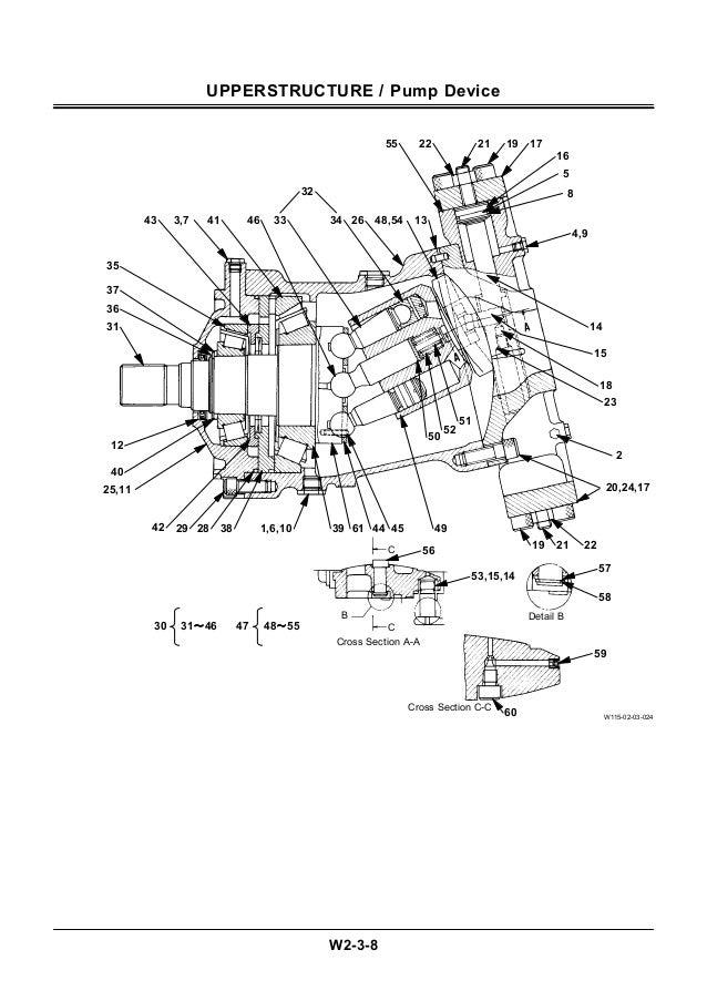 Hitachi ex3500 3 excavatora service repair manual