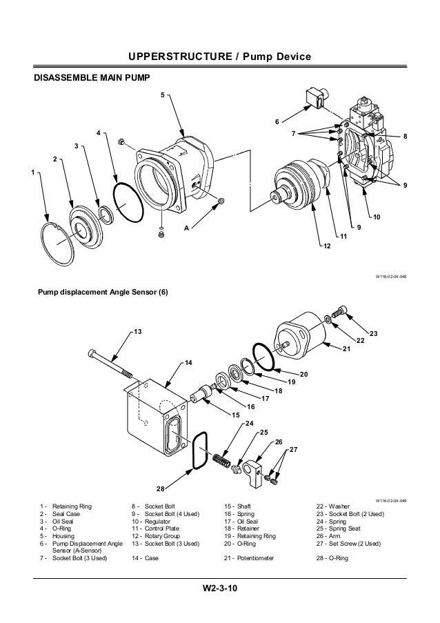 Hitachi ex550 5 excavator service repair manual