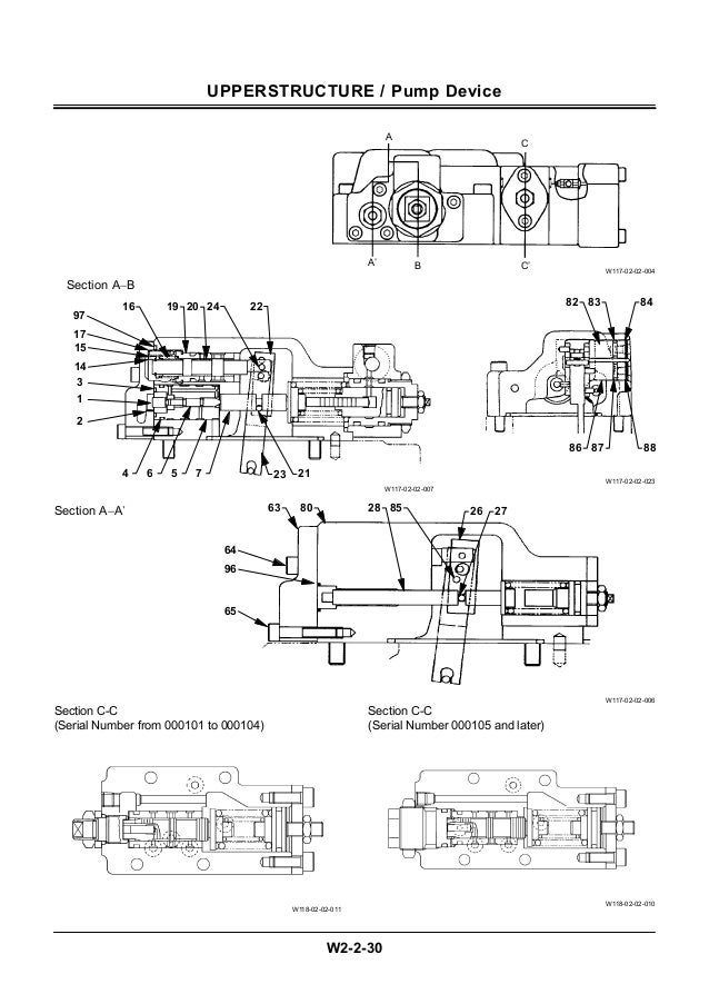 Hitachi ex5500 excavator service repair manual