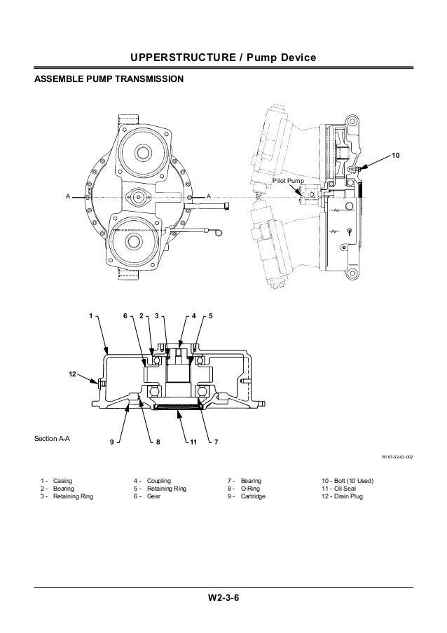 Hitachi ex600 h 5 excavator service repair manual