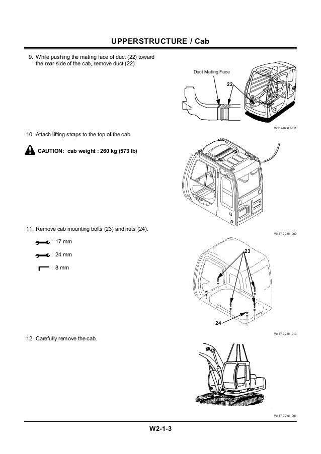 Hitachi ex750 5 excavator service repair manual
