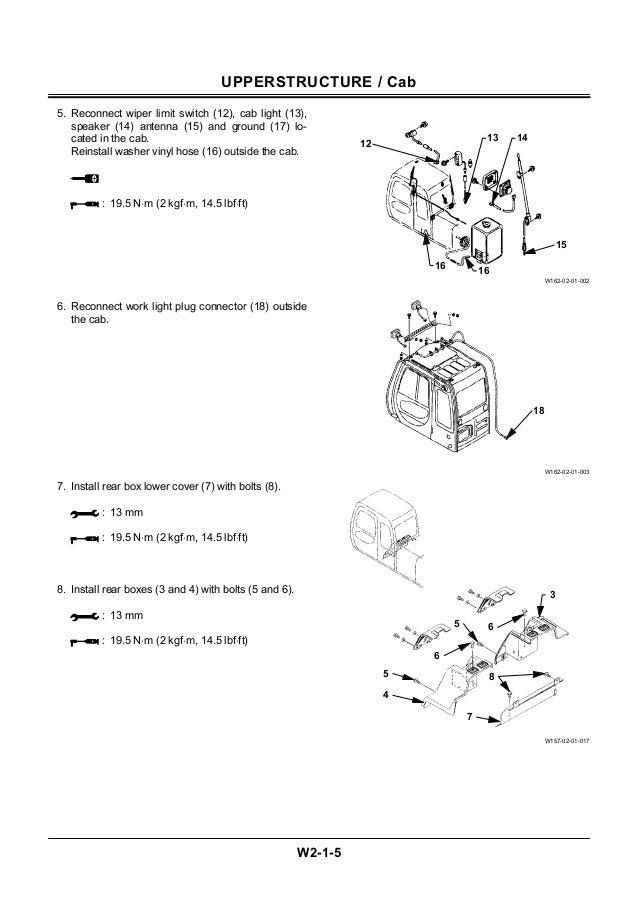hitachi ex750 5 ex800h 5 excavator workshop service repair manual