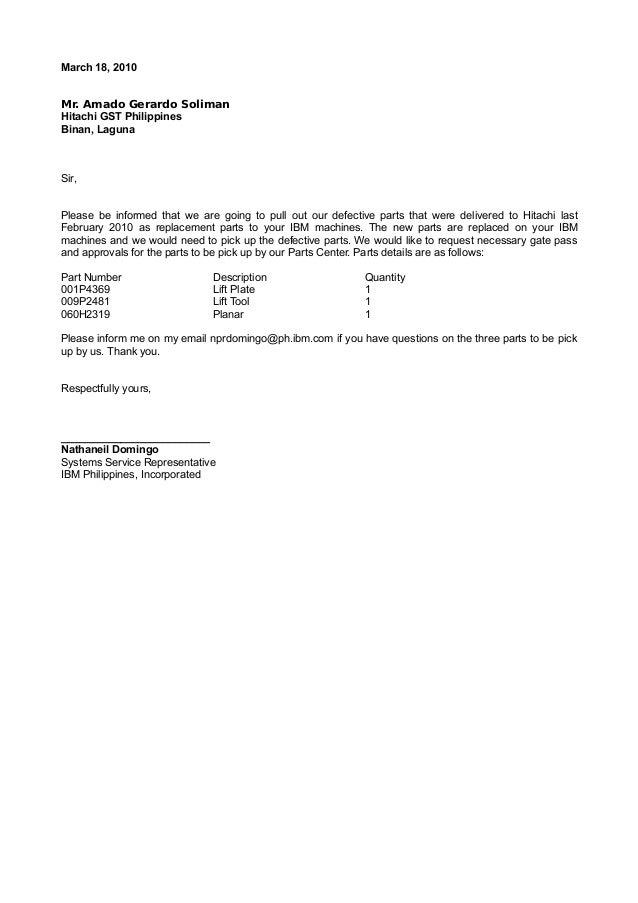 sample request letter for repair service - Hizir kaptanband co