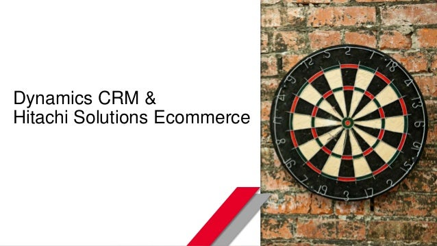 © Hitachi Solutions. 2015. All rights reserved. Dynamics CRM & Hitachi Solutions Ecommerce